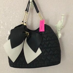 Betsey Johnson Black tote